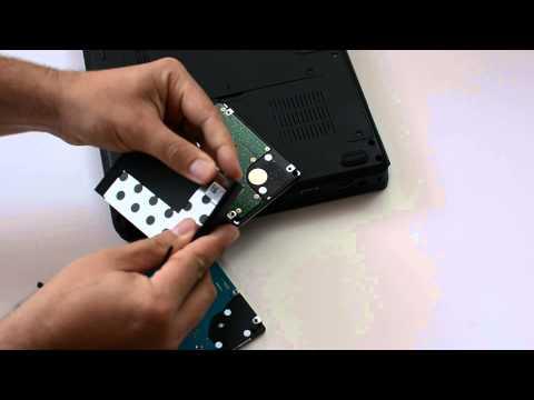 Cum se schimba hard disk-ul si unitatea optica pe un laptop Dell