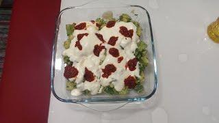 Pratik Kabak Yemeği Tarifi { Fast Zucchini Dish Recipe } - Kolay Yemek Tarifleri | Ayşenur Uruç