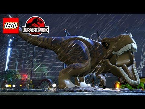 LEGO Jurassic Park All Cutscenes Game Movie HD