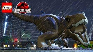 LEGO Jurassic Park All Cutscenes (Game Movie) HD