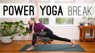 Power Yoga Break  |  Yoga For Weight Loss  |  Yoga With Adriene