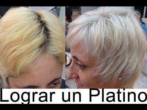 Super Blond Hair Discoloration Height 10 Decoloracion del Cabello Super Rubio Altura 10