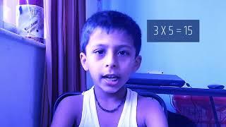 Multiplication Table of Three