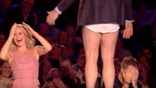 Judge Goes Crazy and Takes His Pants Off! | Audition 7 | Britain