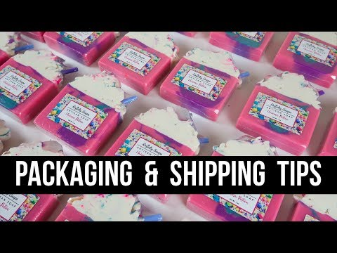 My ENTIRE Process Packaging Labeling & Shipping Royalty Soaps