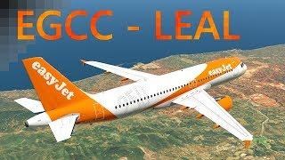 Xplane 11 | Manchester - Alicante | Flight Factor A320