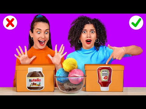 CHOOSE THE RIGHT SAUCE Last To STOP Eating Wins Weird Food Combinations by 123 GO CHALLENGE