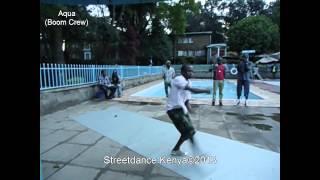 BREAKSESSION 2012 Dance Battle - Nairobi Qualifiers (Krump) Round 1