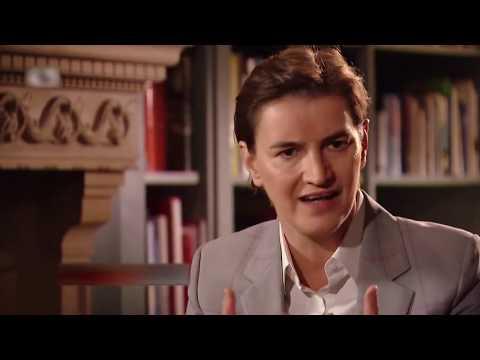 Xxx Mp4 Ana Brnabić Conflict Zone Interview With Serbian Subtitle 3gp Sex