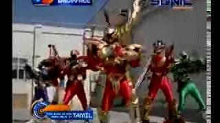 Power Rangers TimeForce vs LightSpeed Rescue Hindi