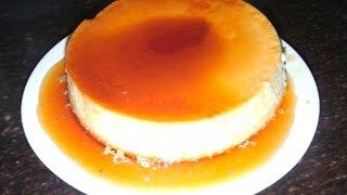 [Hindi/हिंदी] Make Tasty dessert caramel pudding/caramel custard in pressure cooker.
