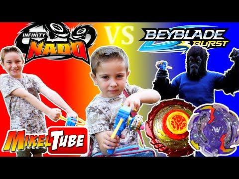 Xxx Mp4 Jugamos Nuestra Epic Battle Con Peonzas Infinity Nado Y Beyblade 3gp Sex