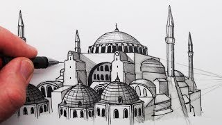 How to Draw The Hagia Sophia: Buildings in Perspective