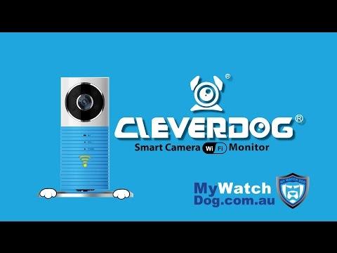 Clever Dog Smart Camera Wifi monitor