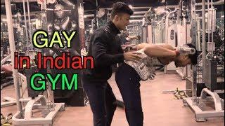 GAY in Indian Gym | Akhilesh Singh 🔥🔥