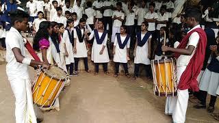 നാടൻ പാട്ട് | താരക പെണ്ണാളേ | കേരളപ്പിറവി ദിനാഘോഷം | ghss kottappuram