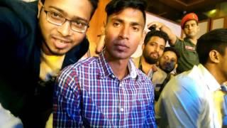 Mustafizur Rahman at Rupchanda Prothom Alo Sports Award 2017