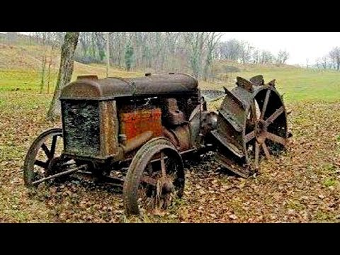 Old Tractors First Start In Many Years Diesel Engine Cold Start After Years