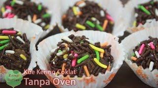 Resep Kue Kering Cokelat Tanpa di Oven dan Mixer