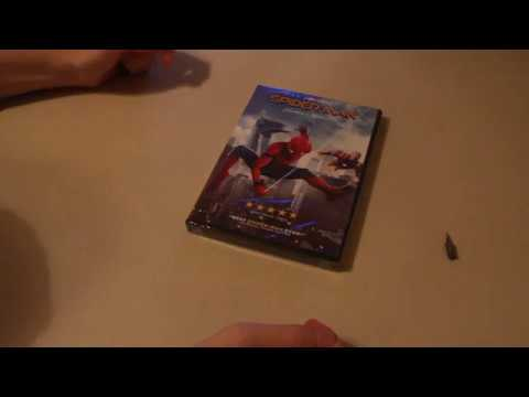 Xxx Mp4 SPIDER MAN HOMECOMING DVD UNBOXING 3gp Sex