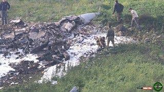 Syrian anti-aircraft [air defense] shot down Israeli F-16 fighter jet , amid IDF cross-border raid