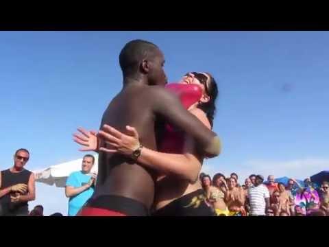 Xxx Mp4 CRIOLA BEACH FESTIVAL 2014 HOT HOT Miss Criola Contest 3rd Test With Balloons 3gp Sex