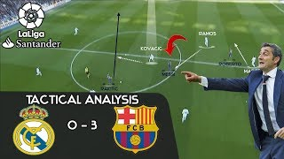 How Valverde is reviving Barcelona: Real Madrid 0-3 Barcelona - Tactical Analysis [El Clasico]