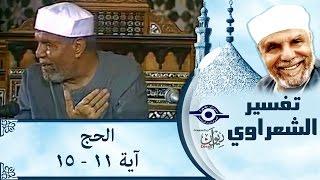 الشيخ الشعراوي | تفسير سورة الحج، (آية ١١-١٥)