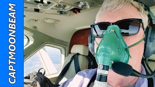 I NEED OXYGEN, Cessna Caravan Flight to Tampa Florida, Pilot Vlog 135