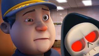 Cartoon | Spookiz 💀  SKELETON TEACHER Meets the JANITOR! 💀  Cartoon Animation Series For Children