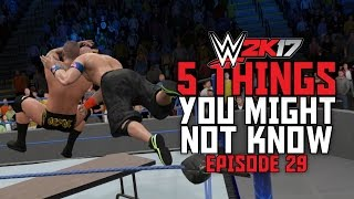 WWE 2K17 - 5 Things You Might Not Know! #29 (Hidden SUPER RKO, New-Gen vs Last-Gen OMG & More)