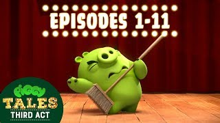 Angry Birds | Piggy Tales | Third Act - Compilation Ep1-11 Mashup