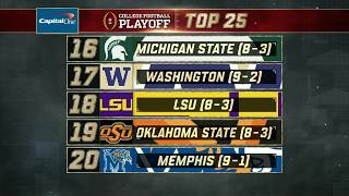Michigan State stays steady in Week 13 of the College Football Playoff Rankings   ESPN