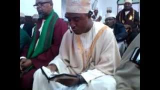 récitation du coran surat Ahzab par Milan Mchangama ( la réunion ).3gp