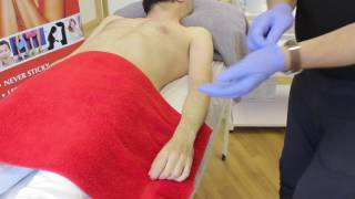 Jack Dunn Male Waxing - Step by Step Male Arm Waxing Treatment