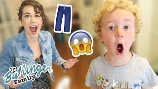 He Pulled Colleen's Pants Down!