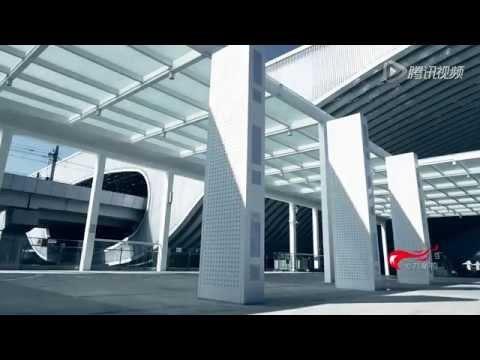 China's high speed rail shenzhen north station