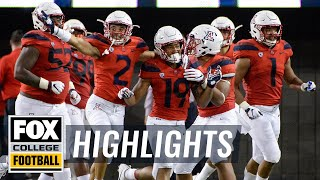 California vs. Arizona | FOX COLLEGE FOOTBALL HIGHLIGHTS