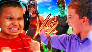 1V1 MY LITTLE BROTHER VS LITTLE KID SQUEAKER (ZURG!!!)THE MATCH YOU BEEN WANTING TO SEE! FORTNITE