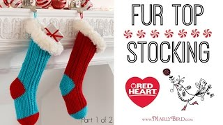 Crochet Fur Top Stockings Part 1 of 2