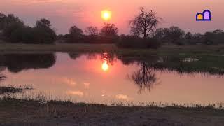 Botswana - Sunset in Chobe National Park