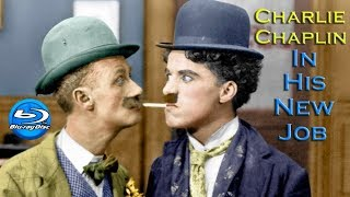 Charlie Chaplin In His New Job (1915) Full Movie [BluRay 1080p]
