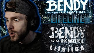 "Vapor Reacts #788 | NEW BENDY AND THE INK MACHINE SONG ""Lifeline"" by Dolvondo REACTION!!"