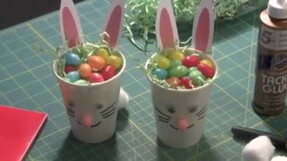 How to Make Easter Bunny Treat Cups