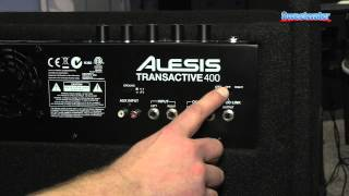 Alesis TransActive 400 Drum Monitor Overview - Sweetwater at Winter NAMM 2014