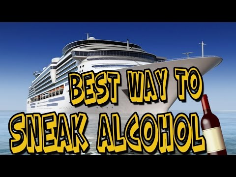 HOW TO SNEAK ALCOHOL ON A CRUISE (BEST WAY)