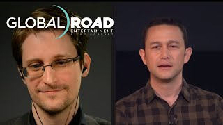 Joseph Gordon-Levitt Talks About Meeting Edward Snowden's Family at SNOWDEN LIVE - In Theaters 9/16