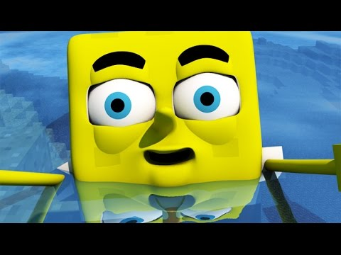 ♫ SPONGEBOB IN MINECRAFT 3 ♫ 3D Animation