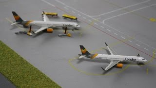 [Photo Video] Summer Airport Scenes - 1/400 Scale