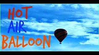 Hot Air Balloon Sighting!